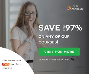 Any Course Save Up to 97% Now at John Academy Online Courses