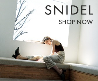 SNIDEL - Japanese formal streetwear