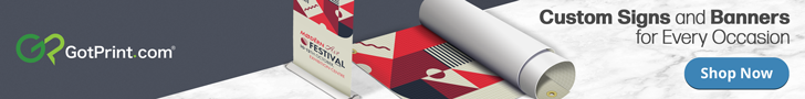 GotPrint Signs and Banner Ad