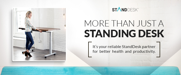 Take your home learning space to new heights with our back-to-school sale! Take 20% all sizes of ready-to-ship black or white laminate standing desk now through 7/25. Use code 20%OffLaminate at checkout.