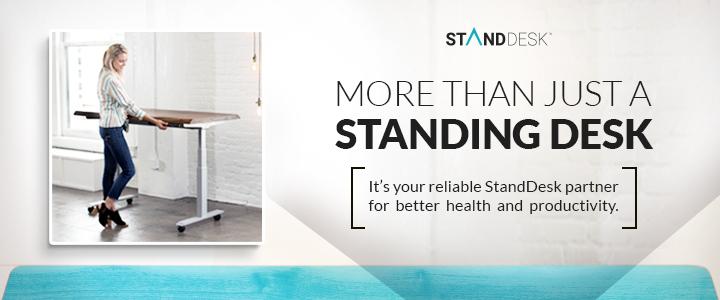 25% Off Black & White Standing Desks w/code: 25%OFFNOW
