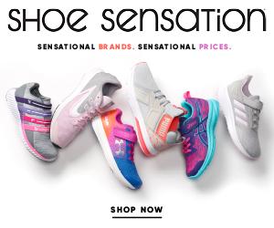 Find great deals on girls' athletic shoes at Shoe Sensation