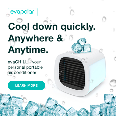 Evapolar portable air conditioner