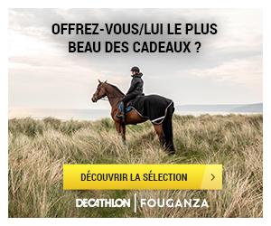 Décathlon, partenaire sur les produits d'équitation