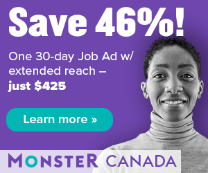 1 30-day Job and 1 30-day Career Ad Network ($425)