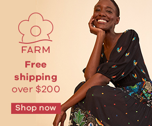 Up to 50% Off at FARM Rio
