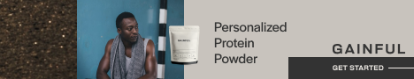 Protein powder personalized for you from Gainful.