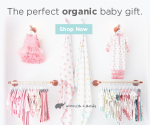 The perfect organic baby gift.