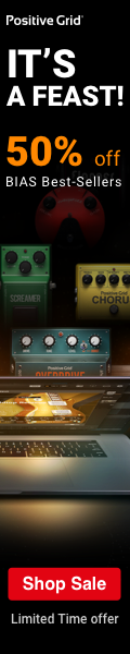 Positive Grid - Mama Says Turn it UP! Get up to 20% Off Mom-Approved Tone