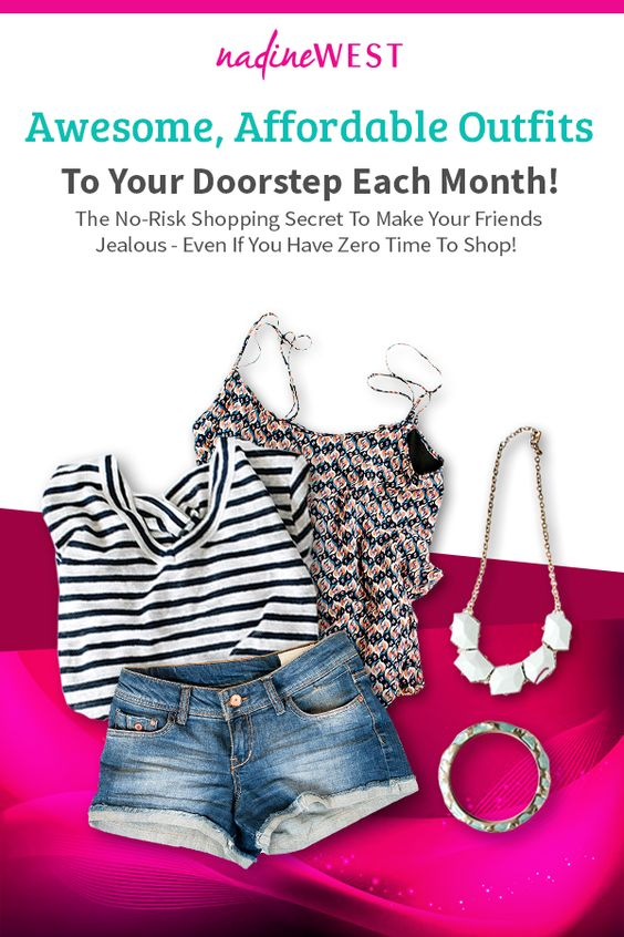 Awesome, Affordable Outfits to Your Doorstep Each Month!