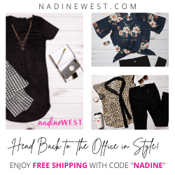 Head Back to the Office in Style with Nadine West!