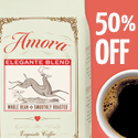 Save 50% OFF on your First Bag of Amora Coffee!