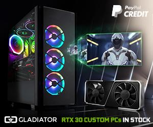 RTX Custom PCs in stock