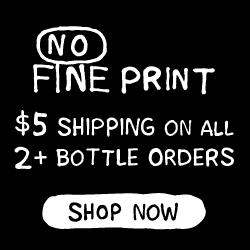 No Fine Print Wine