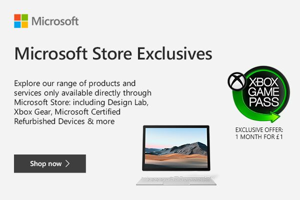 Microsoft Store Exclusive