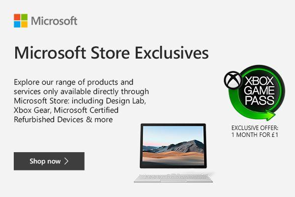 Microsoft Store Exclusive