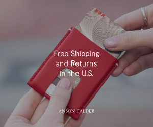 Anson Calder | Free Shipping and Returns in the U.S.