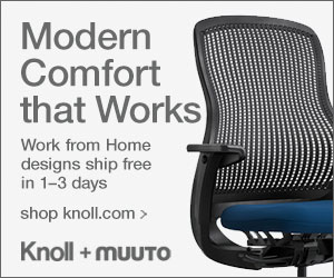 Knoll + Muuto Work from Home Furniture, Lighting and Accessories