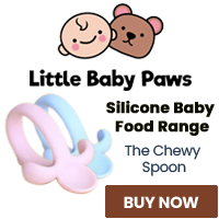 The Chewy Spoon has been specifically made to minimise your baby from chocking