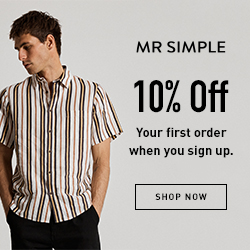 Mr Simple - 10% Off