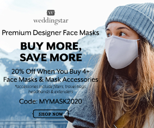 Weddingstar Buy More - Save More Masks