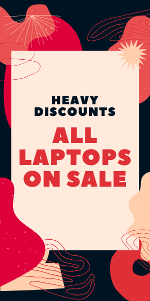 Heavy Discounts on Laptops