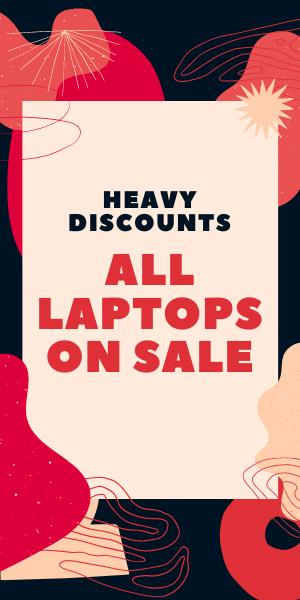 Heavy Discounts on Laptops