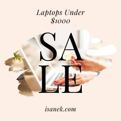 iSanek - All laptops under $1000