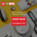 Feature our popular Marvel x MINISO collaboration collection.