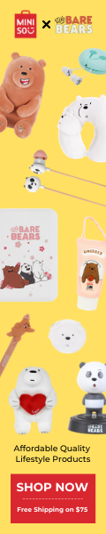 Feature our popular We Bare Bears x MINISO collaboration collection.