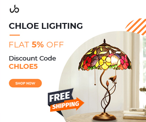 UberBazaar Coupon Code: CHLOE5 - 5% OFF + FREE Shipping On Chloe Lighting Products - 1500+ Items - Decorative lighting & lamps for home & garden, indoor & outdoor