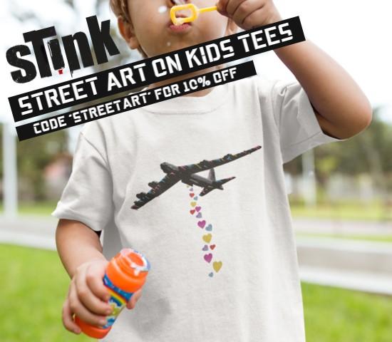 St!nk KIDS 100% COTTON TEES