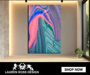 Inside Seven 15 canvas wrap-Lauren Ross Design