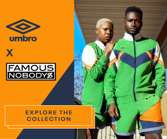 Umbro + Famous Nobody's Collection