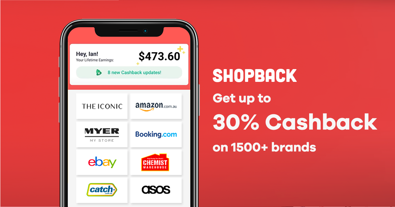 ShopBack simplifies your shopping for you by making sure you get the internet's best deals. Now, with the ShopBack Button on your browser, you will never overpay when you shop. Add to your browser, it's free!